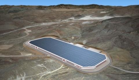 Beyond rail: proposed Tesla gigafactory