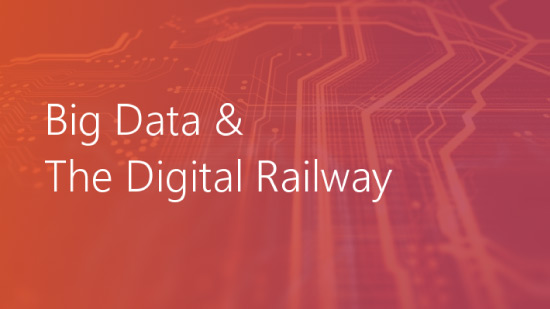 Big data and the digital railway title blog header