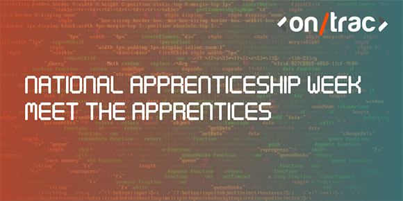 National apprenticeship week - meet the apprentices title blog header