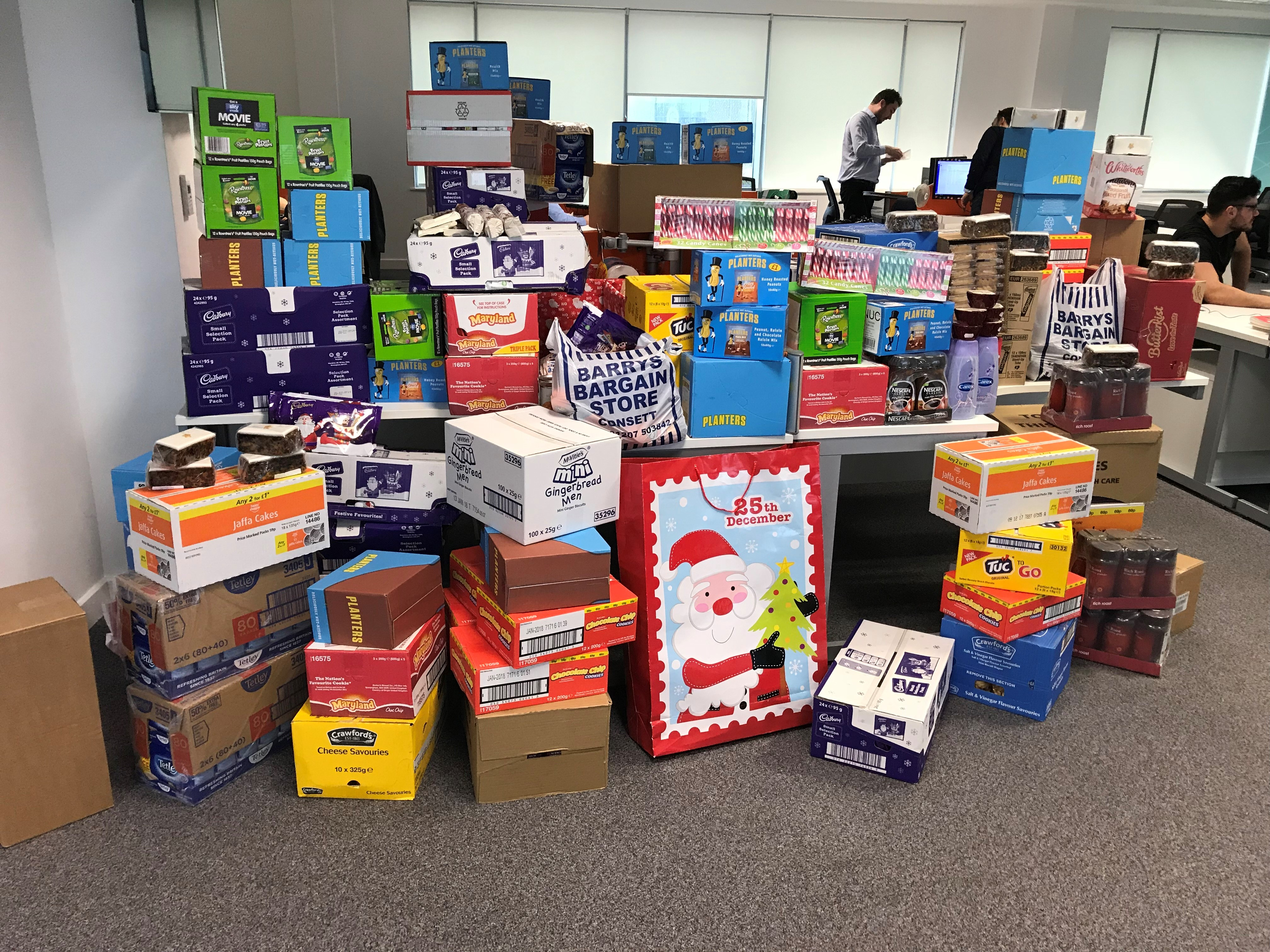 OnTrac-Christmas-Appeal-Food-Donations