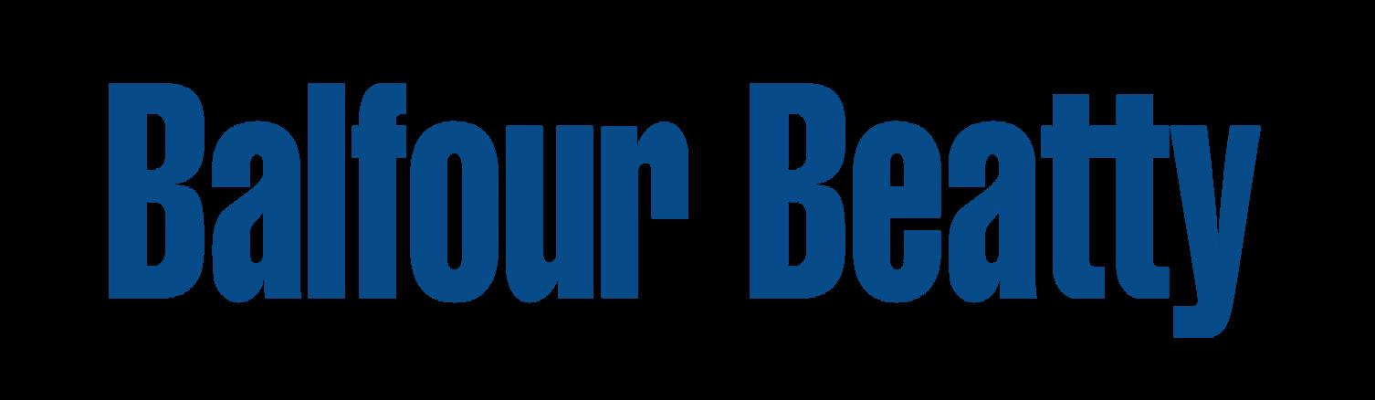 Balfour Beatty logo white