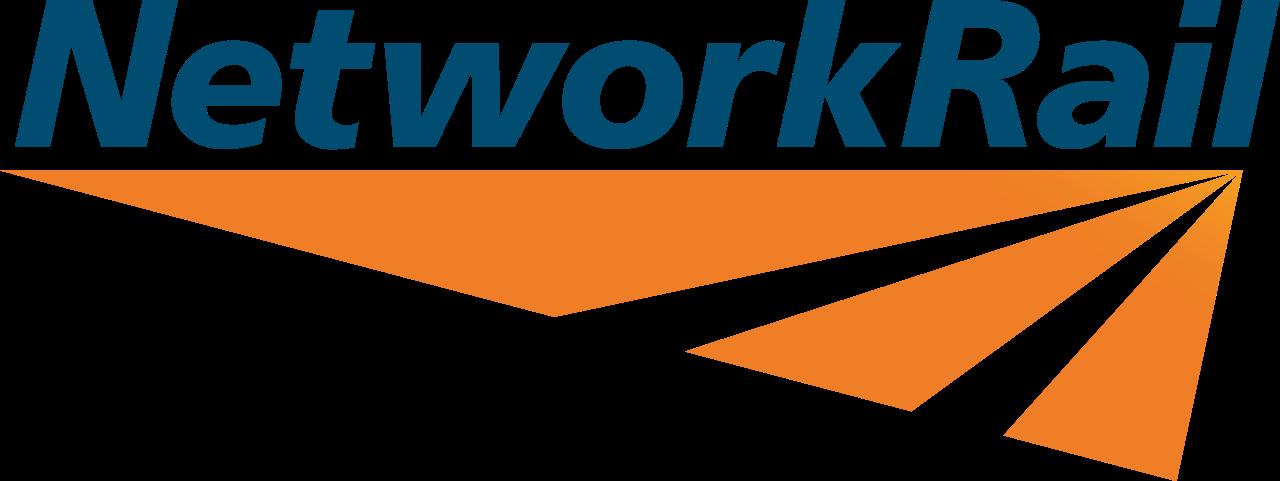 Network Rail logo in white