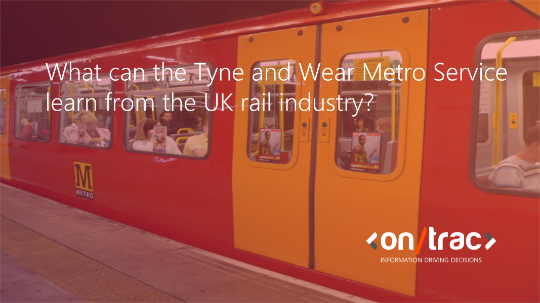 What can the Tyne and Wear Metro Service learn from the UK rail industry?