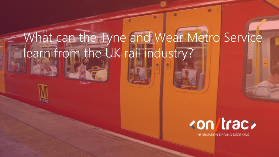 Tyne and Wear Metro Service, Nexus, Rail, Rail Safety