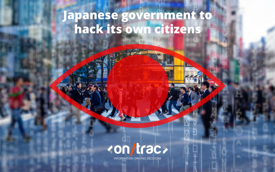 Japanese Government to hack its own citizens