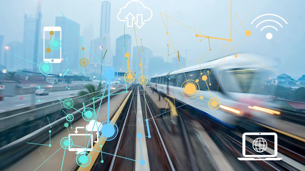fast train with data symbols